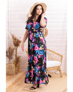 Sukienka na lato moda plus